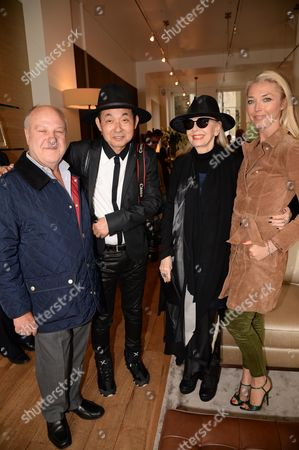 Stock Image of Harvey Goldsmith, Hiro Arakawa and Tamara Beckwith