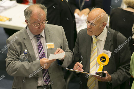 Liberal Democrat MP John Hemming and Paul Tilsley