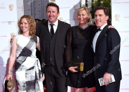 Editorial photo of House of Fraser British Academy Television Awards, Arrivals, Theatre Royal, London, Britain - 10 May 2015