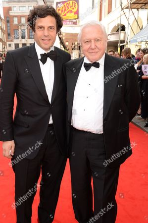 Anthony Geffen and Sir David Attenborough