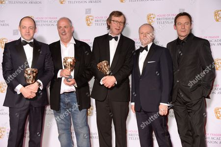 Gareth Neame, Peter Morgan, Roger Michell, Kevin Loader - Mini-Series Winner: The Lost Honour Of Christopher Jefferies - with Jason Watkins and Jason Isaacs
