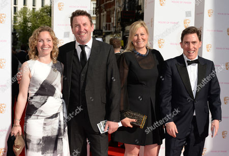 Tara McKillop, Lee Mack, Claire Holland and Rob Brydon