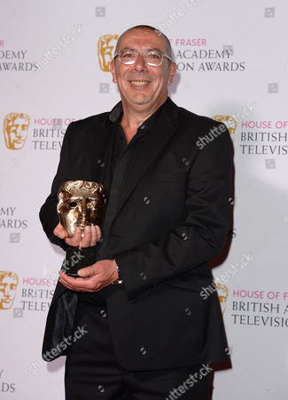 Editorial photo of House of Fraser British Academy Television Awards, Press Room, Theatre Royal, London, Britain - 10 May 2015