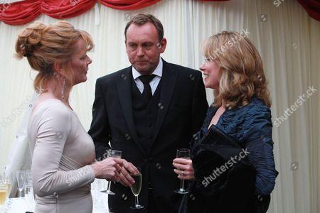 Samantha Bond, Philip Glenister, Beth Goddard