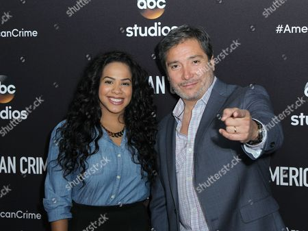 Editorial photo of 'American Crime' TV series ATAS event, Los Angeles, America - 08 May 2015