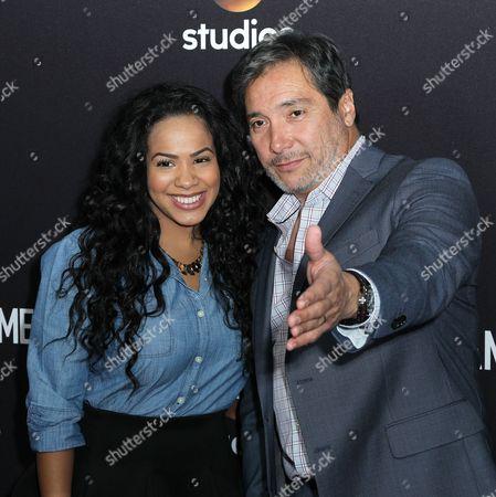 Gleendilys Inoa and Benito Martinez