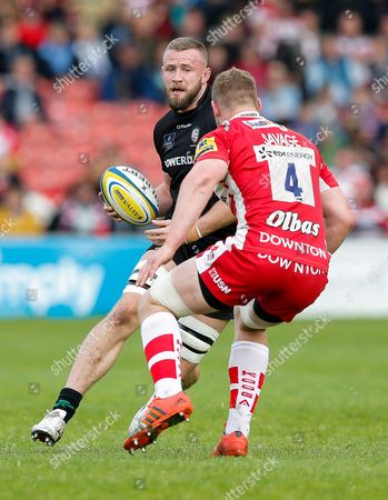 Editorial image of Gloucester Rugby v London Irish, Britain - 9 May 2015