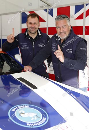 Paul Hollywood and Jonathan Adam