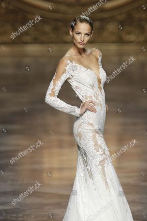 Editorial photo of Pronovias Show, Barcelona Bridal Fashion Week, Spain - 08 May 2015
