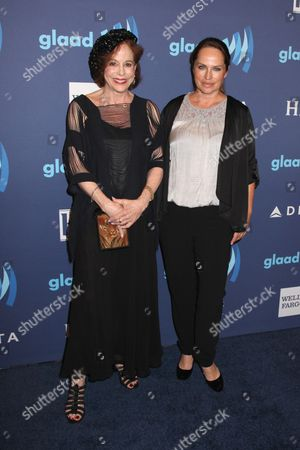 Stock Image of Louise Sorel and Crystal Chappell