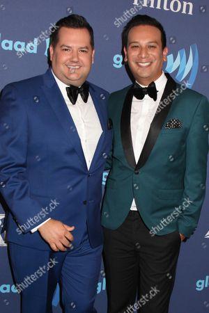 Ross Mathews and boyfriend Salvador Camarena