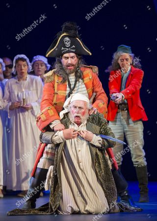 Joshua Bloom as The Pirate King, Andrew Shore as Major-General Stanley, Rebecca de Pont Davies as Ruth