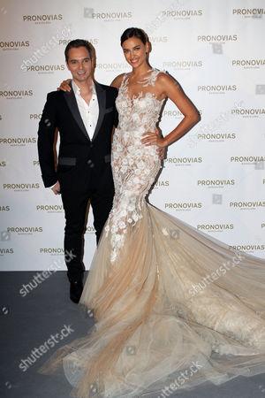 Herve Moreau and Irina Shayk