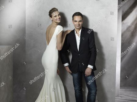 Editorial picture of Barcelona Bridal Fashion Week, Spain - 08 May 2015