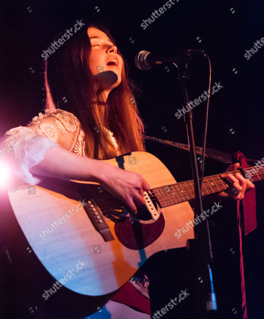 Editorial image of Florence Morrissey in concert, The Courtyard, London, Britain - 06 May 2015