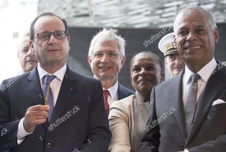 Editorial photo of Francois Hollande is on a five-day visit to the Caribbean,  Point-a-Pitre, Guadeloupe - 10 May 2015