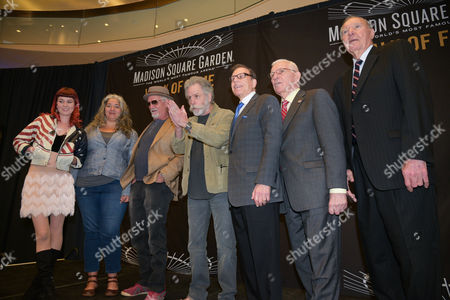 Reya Hart, Trixie Garcia, Bill Kreutzmann,   Bob Weir, George Kalinsky, Eddie Giacomin, Harry Gallatin