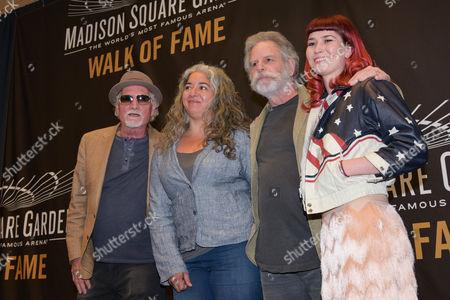 Bill Kreutzmann, Trixie Garcia,   Bob Weir, Reya Hart