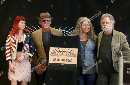 Reya Hart, Bill Kreutzman, Trixie Garcia and Bob Weir