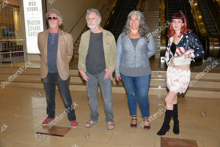 Bill Kreutzmann, Bob Weir, Trixie Garcia, Reya Hart