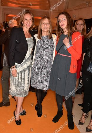 Caroline Michel, Lady Ruth Rogers and Sian Wynn-Owen