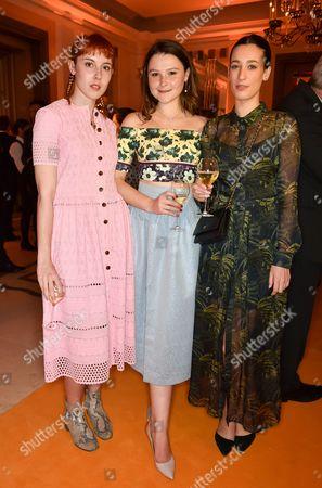 Paula Goldstein, Amber Atherton and Laura Jackson