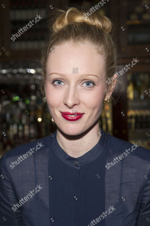 Alice Orr-Ewing (Sorel Bliss) attends the after party on Press Night for Hay Fever at National Gallery Cafe