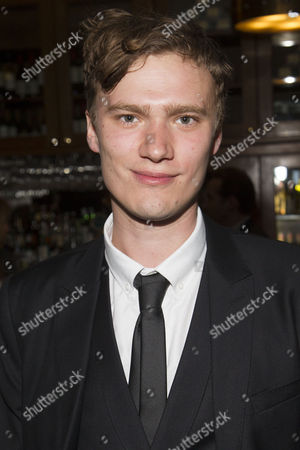 Edward Franklin (Simon Bliss) attends the after party on Press Night for Hay Fever at National Gallery Cafe