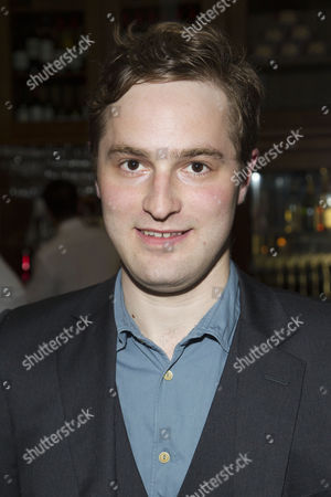 Edward Killingback (Sandy Tyrrell) attends the after party on Press Night for Hay Fever at National Gallery Cafe