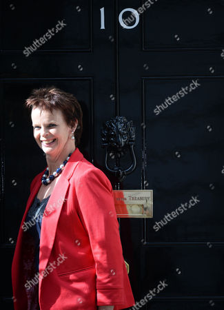 Anne Milton arrives at No10 Downing St for the 2015 Cabinet Reshuffle