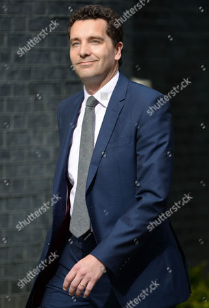 Edward Timpson arrives at No10 Downing St for the 2015 Cabinet Reshuffle