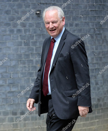 Francis Maude at No10 Downing St for the 2015 Cabinet Reshuffle