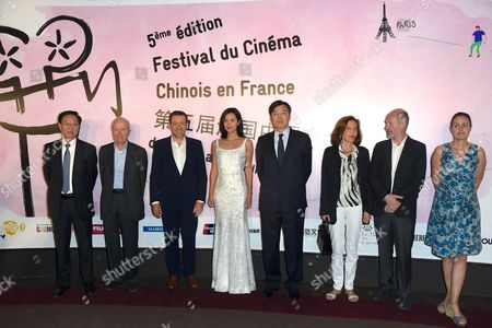 Editorial picture of 5th Annual Chinese film festival, Paris, France - 11 May 2015