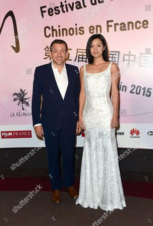 Stock Picture of Dany Boon and Xu Jinglei