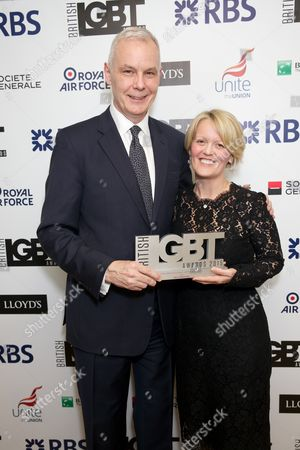 Stock Picture of Ben Summerskill & Alison Rose (CEO of Commercial and  Private Banking at RBS)