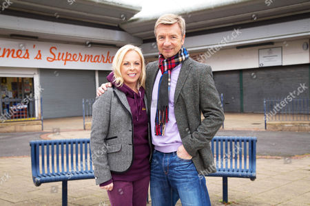 Jane Torvill and Christopher Dean.