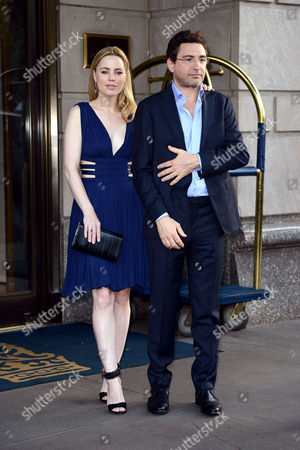 Melissa George and Jean David Blanc
