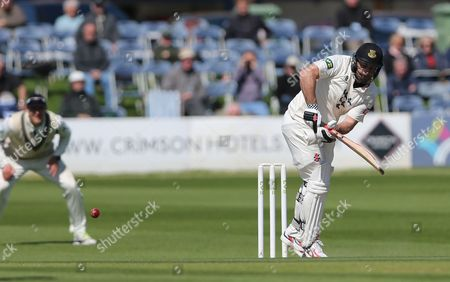 Sussex Michael Yardy makes a half century during the LV County Championship Div 1 match between Sussex County Cricket Club and Middlesex County Cricket Club at the BrightonandHoveJobs.com County Ground, Hove