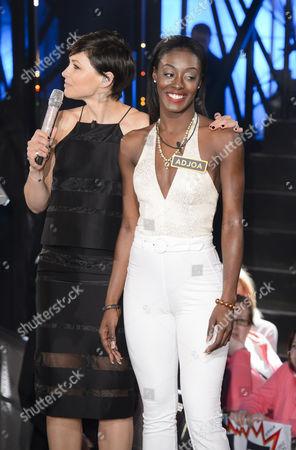 Stock Photo of Emma Willis and Adjoa Mensah