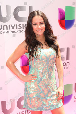 Editorial picture of Univision Upfront Presentation, New York, America - 12 May 2015