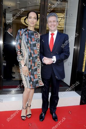 Editorial picture of Jaeger-LeCoultre store launch, London, Britain - 12 May 2015