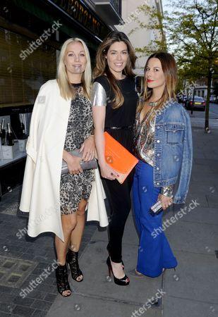 Caroline Fleming, Sophie Stanbury and Juliet Angus