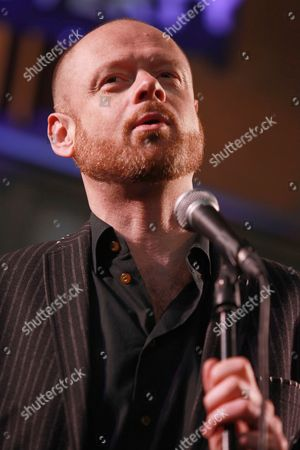Editorial photo of War on Want' comedy show at the Union Chapel, London, Britain - 12 May 2015