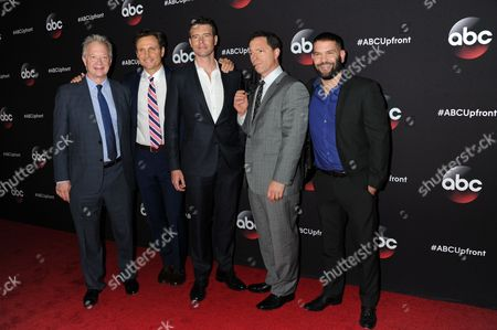 Editorial picture of ABC Upfront Presentation, New York, America - 12 May 2015