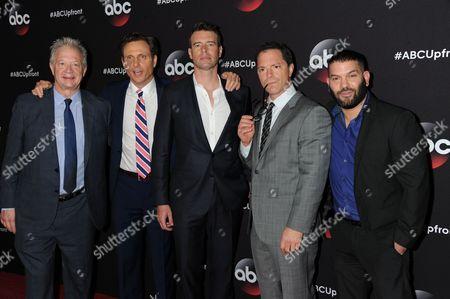 Jeff Perry, Tony Goldwyn, Scott Foley, Josh Malina, Guillermo Diaz