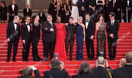 The Jury - Sienna Miller, Sophie Marceau, Xavier Dolan, Joel Cohen, Ethan Cohen, Rossy De Palma, Guillermo Del Toro, Rokia Traore