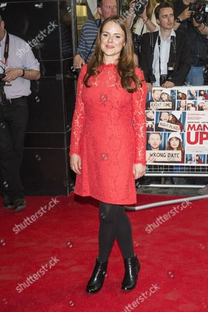 Editorial picture of 'Man Up' film screening, London, Britain - 13 May 2015