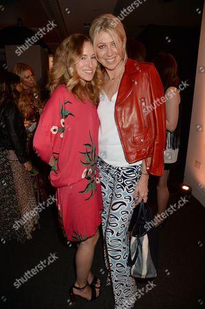 Sasha Sarokin and Diane Kordas (R)