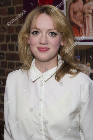 Lucy Briggs-Owen (Jessica) attends the after party on Press Night for Communicating Doors at the Menier Chocolate Factory