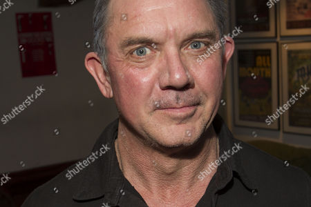 David Bamber (Julian) attends the after party on Press Night for Communicating Doors at the Menier Chocolate Factory